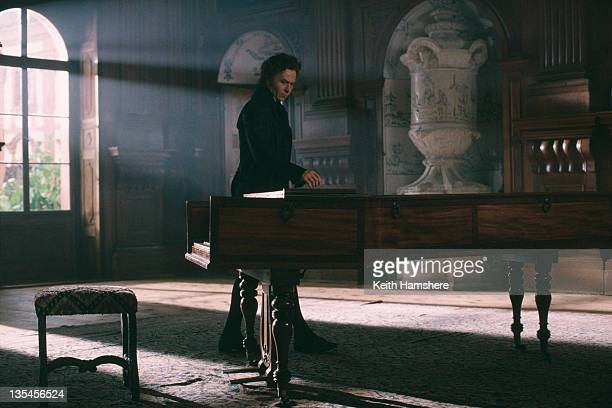 English actor Gary Oldman as composer Ludwig van Beethoven in the film 'Immortal Beloved' 1994