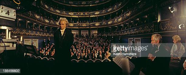 English actor Gary Oldman as composer Ludwig van Beethoven on the set of the film 'Immortal Beloved' 1994