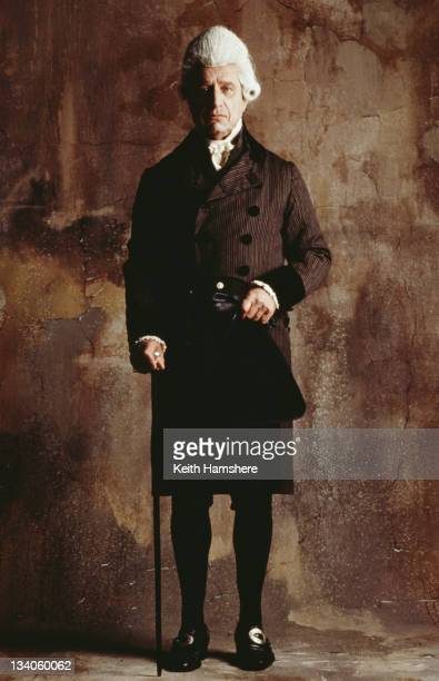 English actor Geoffrey Palmer as Dr Warren in the film 'The Madness of King George' 1994