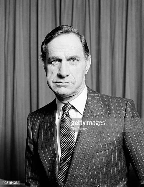 English actor Geoffrey Palmer circa 1985