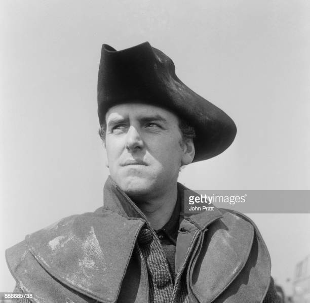 English actor George Cole as Sexton Mipps in the Walt Disney period romp 'Dr Syn Alias the Scarecrow' filming on location in Rye Sussex May 1963