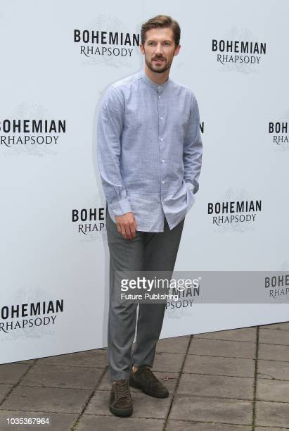 English actor Gwilym Lee poses during a photocall of the film Bohemian Rhapsody on September 18 2018 in Rome Italy Marco Ravagli / Barcroft Images