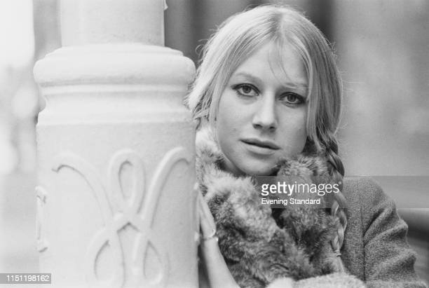 English actor Helen Mirren UK 19th December 1969