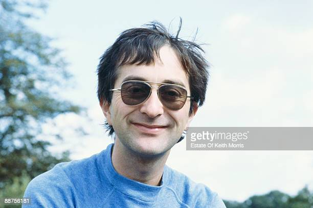 English actor historian and broadcaster Tony Robinson during the filming of comedy sketch show 'Who Dares Wins' 1986