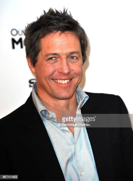 English actor Hugh Grant poses during 'Did You Hear About The Morgans' Paris Photocall at Hotel George V on January 13 2010 in Paris France