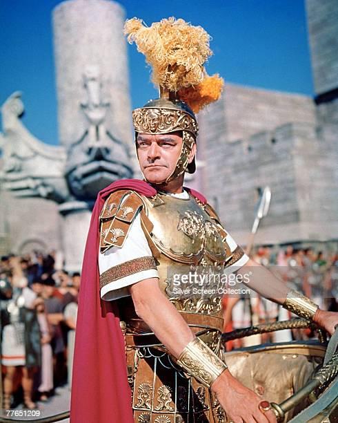 English actor Jack Hawkins as Roman officer Quintus Arrius in the film 'BenHur' 1959