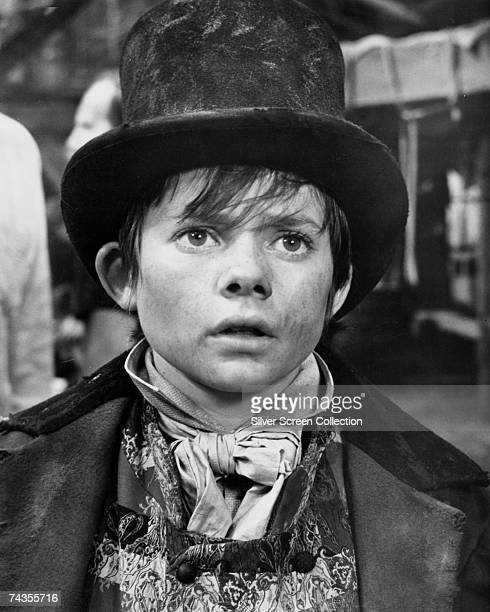 English actor Jack Wild in his role as the Artful Dodger in the film version of Lionel Bart's musical 'Oliver' directed by Carol Reed 1968