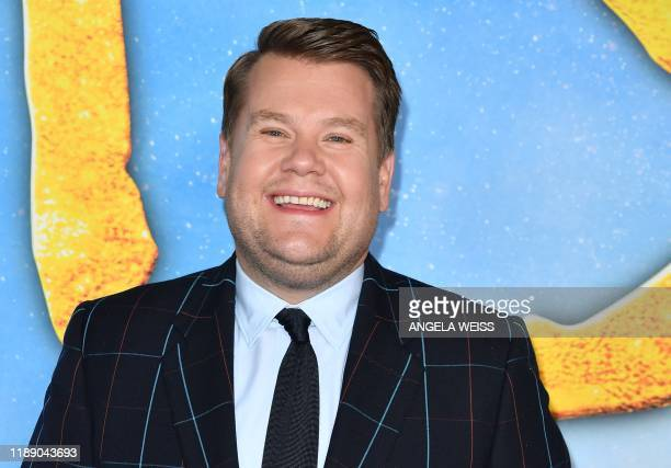 English actor James Corden arrives for the world premiere of Cats at the Alice Tully Hall in New York City on December 16 2019