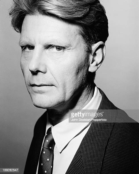 English actor James Fox posed in 1989