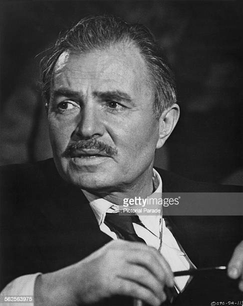 English actor James Mason as Charles Dobbs in 'The Deadly Affair', directed by Sidney Lumet, London, 1966.