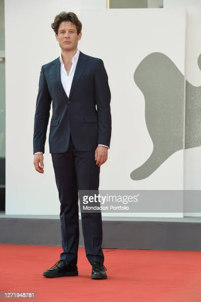 English actor James Norton at the 77 Venice International Film Festival 2020. Nowhere Special red carpet. Venice , September 10th, 2020