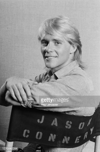 English actor Jason Connery 14th January 1985