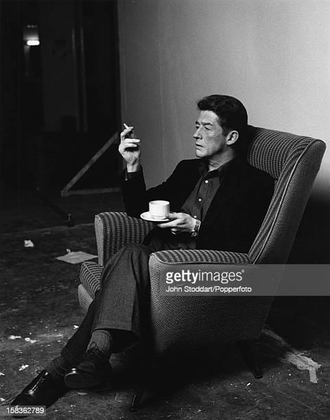 English actor John Hurt, 1988.