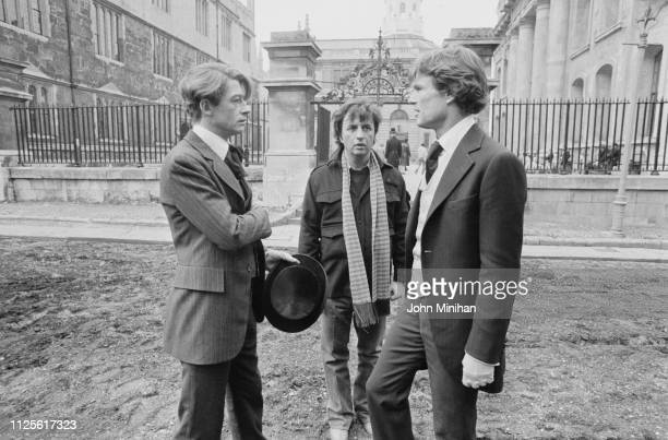 English actor John Hurt American film director screenwriter producer and author Michael Cimino and American actor and singersongwriter Kris...