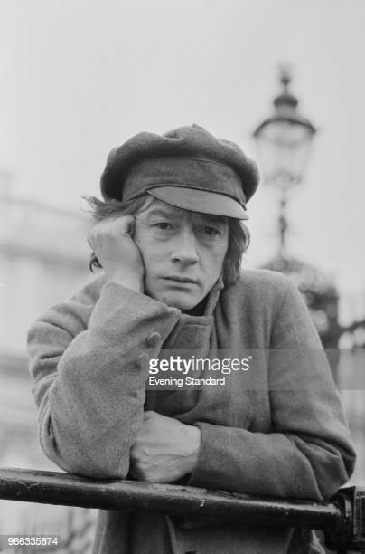 English actor John Hurt as 'Rodion Romanovich Raskolnikov' on the set of television series 'Crime and Punishment' UK 21st February 1979