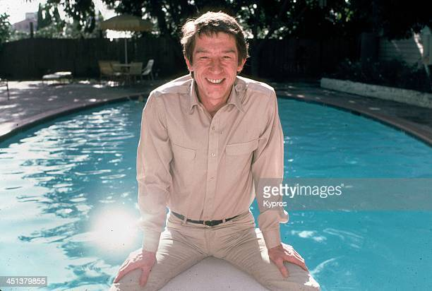 English actor John Hurt in California, 1980s.