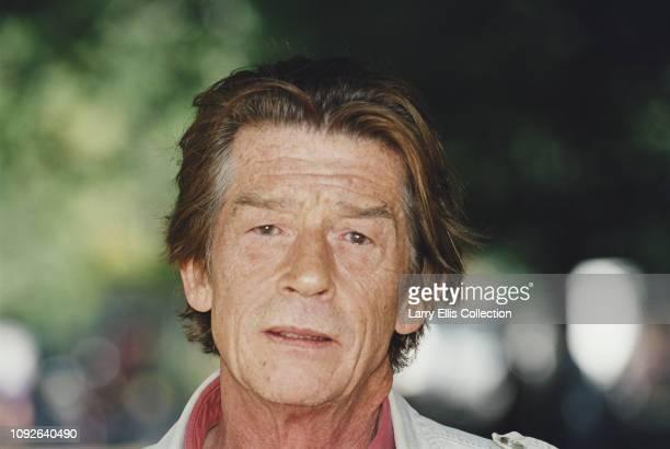 English actor John Hurt pictured circa 1995.