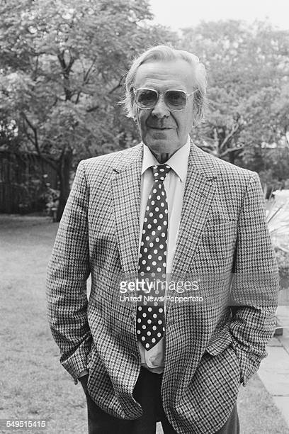 English actor John Le Mesurier pictured at a Channel 4 television reception in London on 23rd June 1983