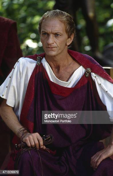 English actor John McEnery playing Caligula in the TV miniseries AD 1985