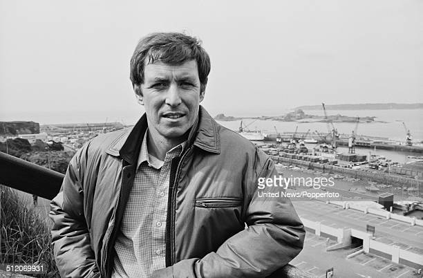 English actor John Nettles who appears as Detective Sergeant Jim Bergerac in the television drama series Bergerac posed on 30th April 1981.