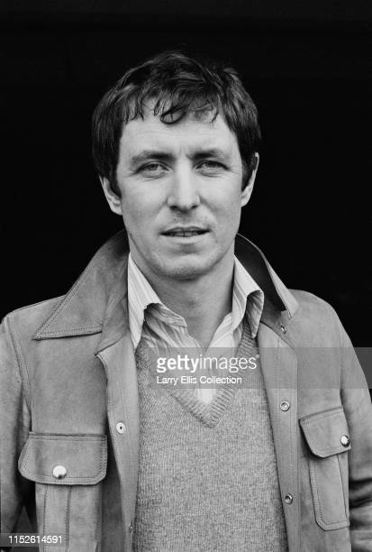 English actor John Nettles who plays the character of Jim Bergerac in the television drama series 'Bergerac', pictured on location during filming in...