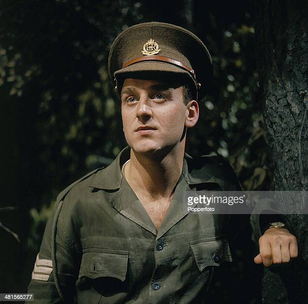 1968 English actor John Thaw pictured in a scene from the television drama 'Redcap' in 1968