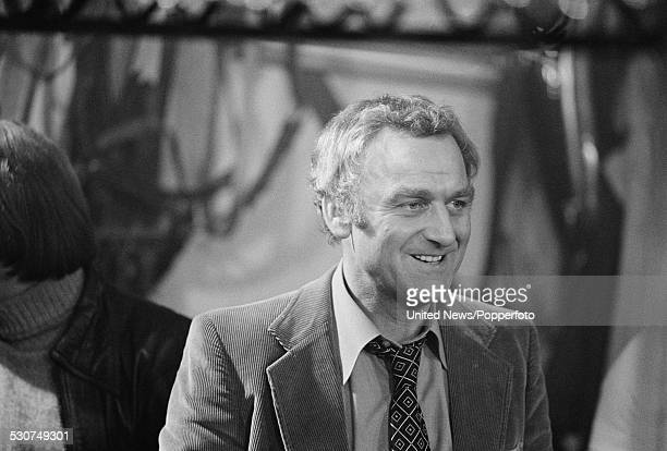 English actor John Thaw pictured in character as Detective Inspector Jack Regan during filming of the spinoff feature film 'Sweeney 2' from the...