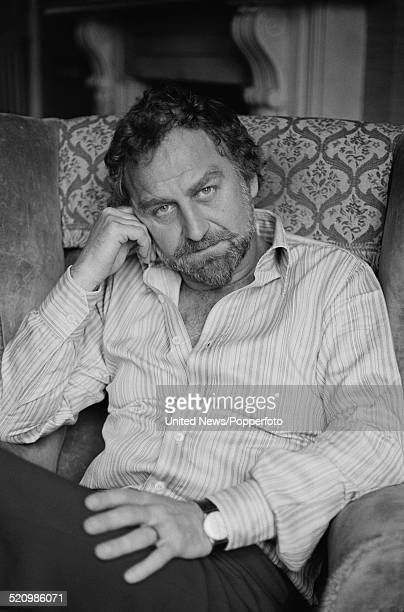 English actor John Thaw posed sitting in an armchair in London on 2nd June 1980