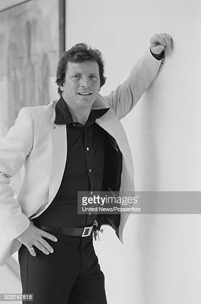 English actor Johnny Briggs who plays the character of Mike Baldwin in the long running television soap opera Coronation Street posed on 12th October...