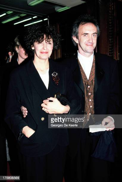 English actor Jonathan Pryce and his wife Kate Fahy in 1990 ca in London England