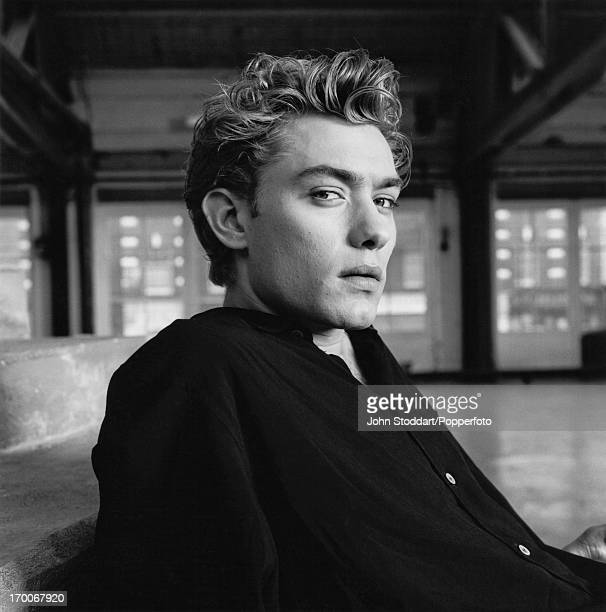 English actor Jude Law in London in 1991