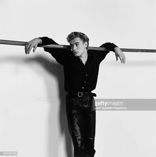 English actor Jude Law posed in London in 1991