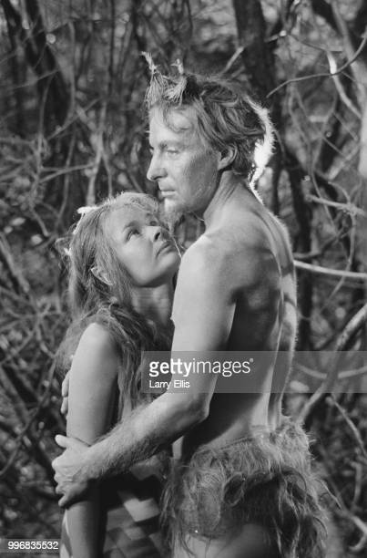 English actor Judi Dench and Scottish actor Ian Richardson pictured in character as Queen Titania and King Oberon during production of Peter Hall's...