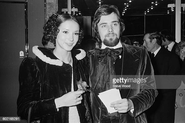 English actor Leonard Whiting and his partner Cathee Dahmen arriving at the premiere of the film 'Say Hello to Yesterday' at the Warner Rendezvous...