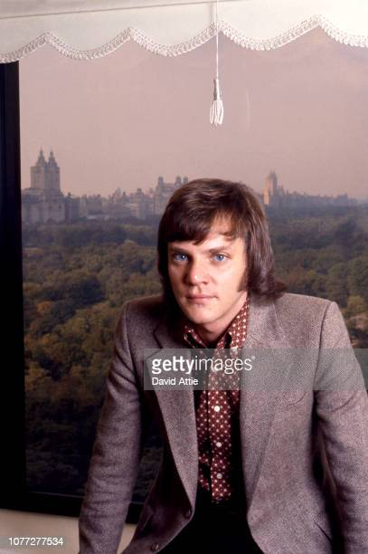 English actor Malcolm McDowell poses for a portrait in 1971 in New York City New York