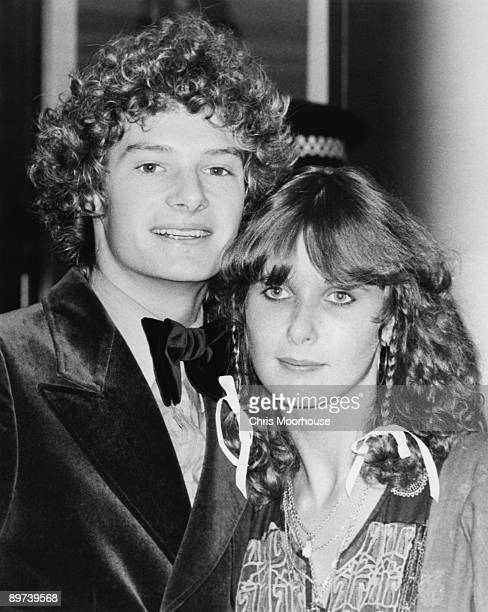 English actor Mark Lester and Janne Hansen attend the royal premiere of the film 'A Star is Born' 1977
