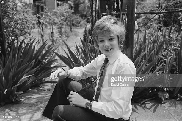 English actor Mark Lester at home June 1969
