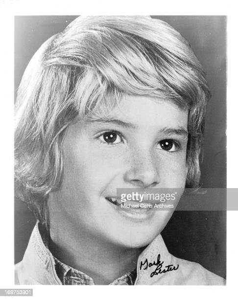 English actor Mark Lester poses for a portrait in circa 1963