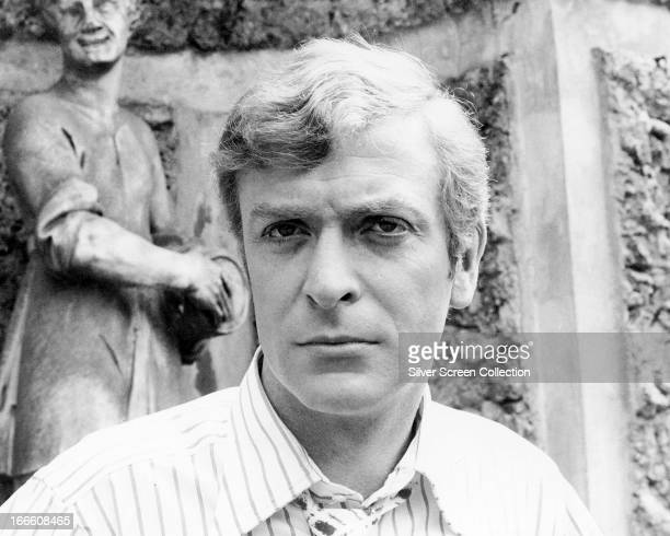 English actor Michael Caine as Charlie Croker in 'The Italian Job' directed by Peter Collinson 1969
