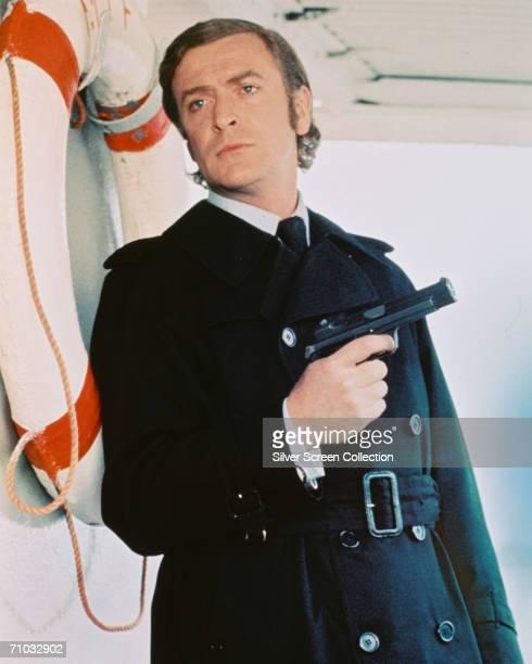 English actor Michael Caine as Jack Carter in Mike Hodges' thriller 'Get Carter', 1971.
