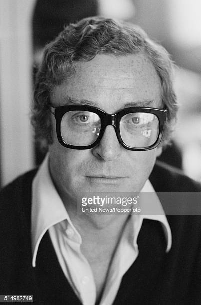 English actor Michael Caine posed in London on 1st September 1981