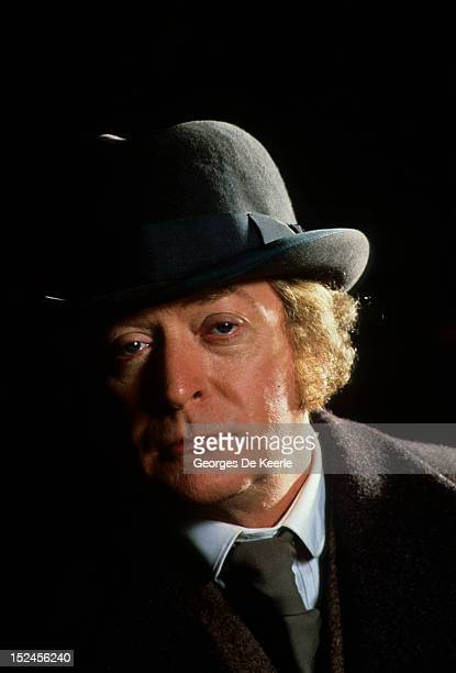 English actor Michael Caine stars as Chief Inspector Frederick Abberline in the television crime drama 'Jack the Ripper', May 1988.