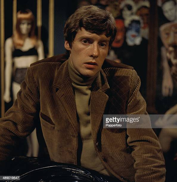 English actor Michael Crawford pictured on the set of the television drama 'The Three-Barrelled Shotgun' in 1967.
