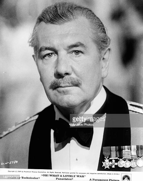 English actor Michael Redgrave as he appears in the film 'Oh What A Lovely War' 1969