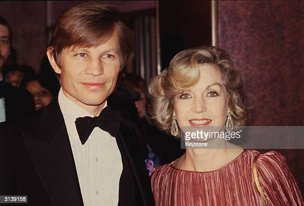 English actor Michael York and his wife Pat at the Gala Performance of 'California Suite' at the Odeon Leicester Square