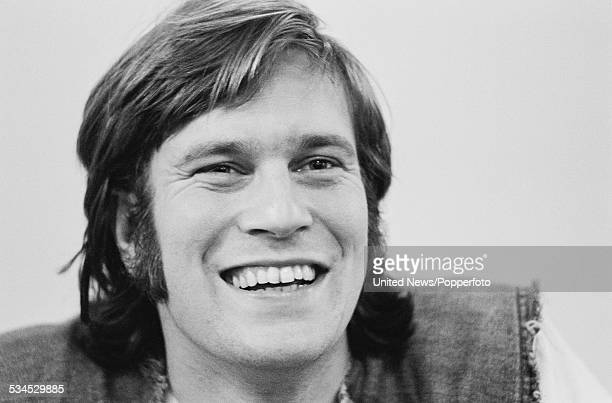 English actor Nicky Henson who appears in the West End musical Mardi Gras pictured in London on 25th February 1976