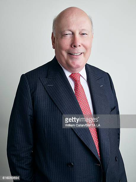 English actor novelist film director and screenwriter and a Conservative peer of the House of Lords Julian Fellowes poses for a portrait BBC America...