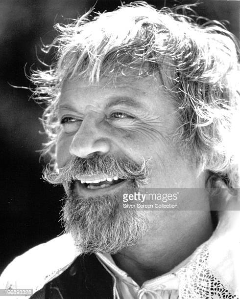 English actor Oliver Reed as Athos in a promotional portrait for 'The Return of the Musketeers' directed by Richard Lester 1989