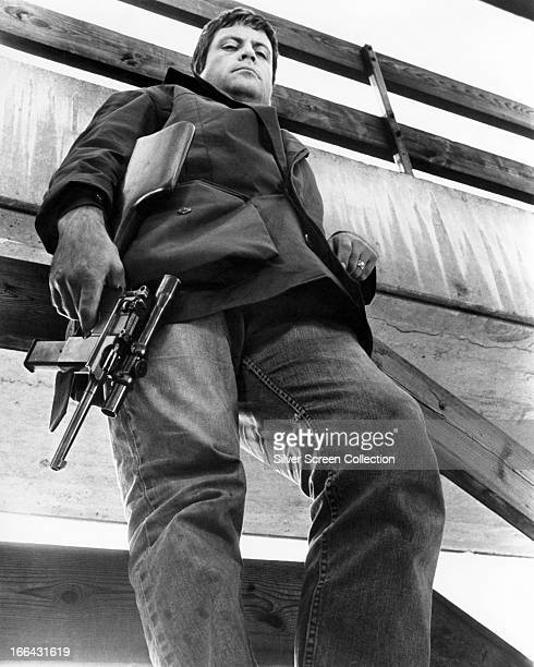 English actor Oliver Reed as Harry Lomart in 'Sitting Target' directed by Douglas Hickox London 1972