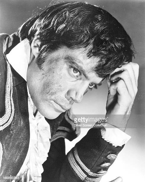English actor Oliver Reed as Ivan Dragomiloff in a promotional portrait for 'The Assassination Bureau' directed by Basil Dearden 1969
